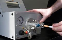 vent testing of pressure drop